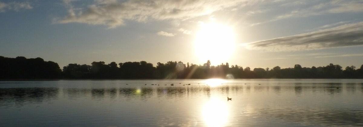 Dawn at Ellesmere Shropshire