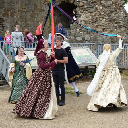 Whittington Castle Living History