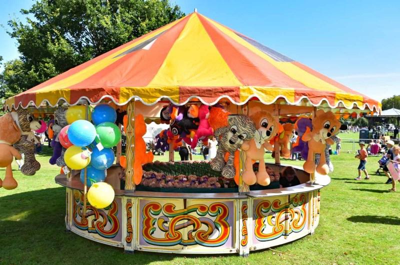 Fairground fun in Oswestry