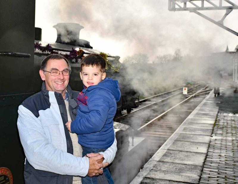 Take a train ride in Oswestry