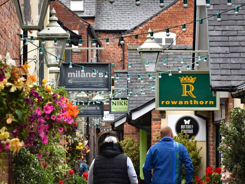 Oswestry Town Shopping