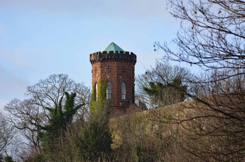 Part of Shrewsbury Castle
