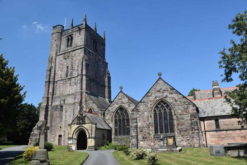 St Oswalds Parish Church Oswestry