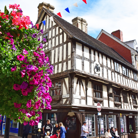 Oswestry Shropshire market Town