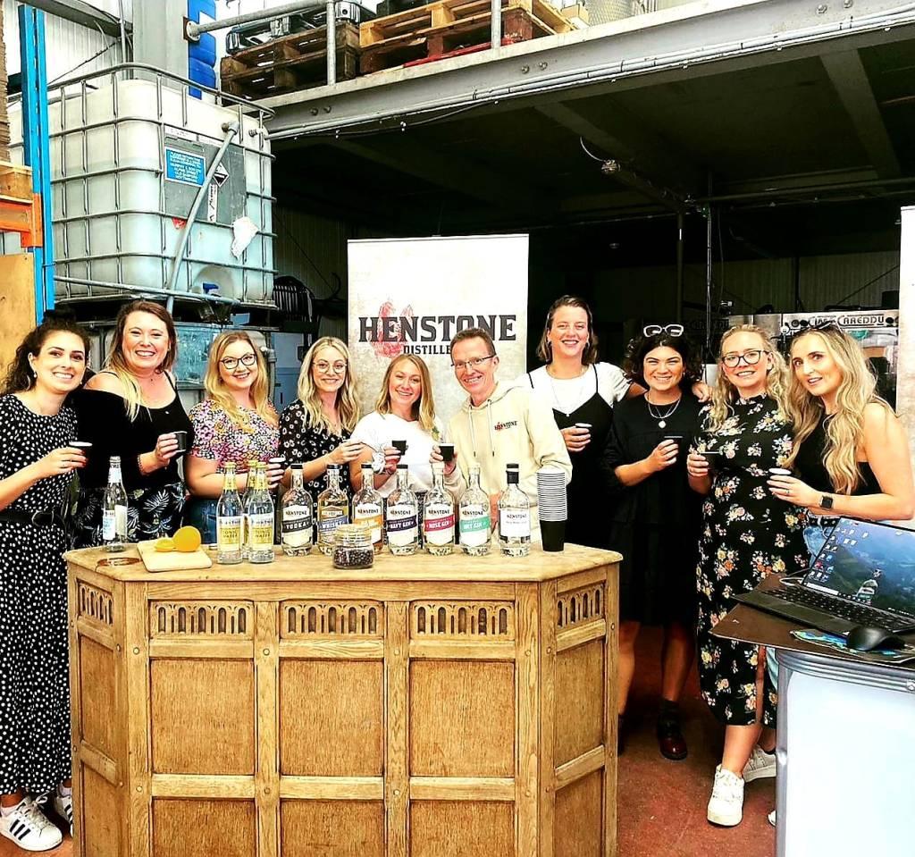 Henstone gin tour