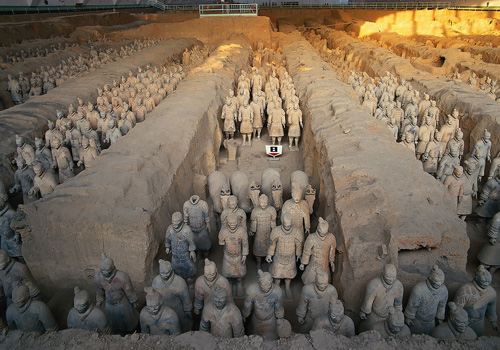 Pit No.1,Terracotta Army and Horses,Xi'an Tours,China Tours