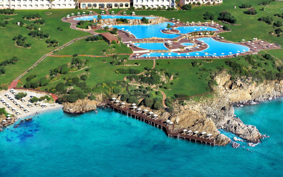 Colonna Resort Aerea-con-Bar-