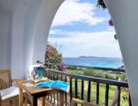 Romazzino-Sea view Premium Double Room Balcony