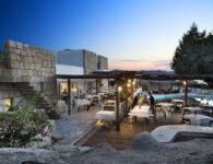 Nuraghe ristorante tramonti esterno