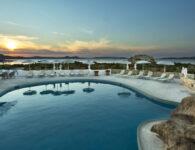 Nuraghe vista da piscina