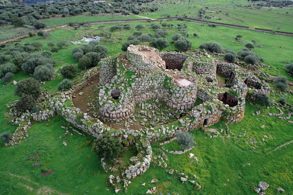 Nuragic Village Arrubiu, Nuragic Village Arrubiu