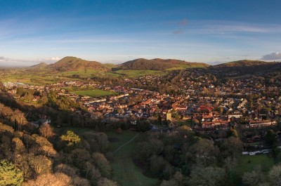 Church Stretton by dronerangers.co.uk