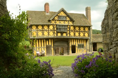 Stokesay Castle, nr Craven Arms