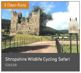 Wheely Wonderful Cycling's 3 day Shropshire Wildlife Cycling Safari