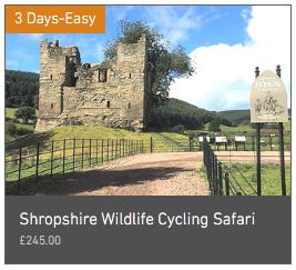 Wheely Wonderful Cycling's 3 day Shropshire Wildlife Cycling Safari