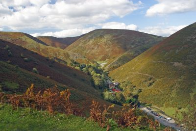 Carding Mill Valley & The Long Mynd