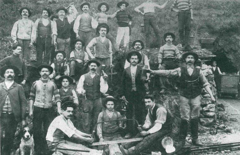Operai della Miniera di San Giorgio