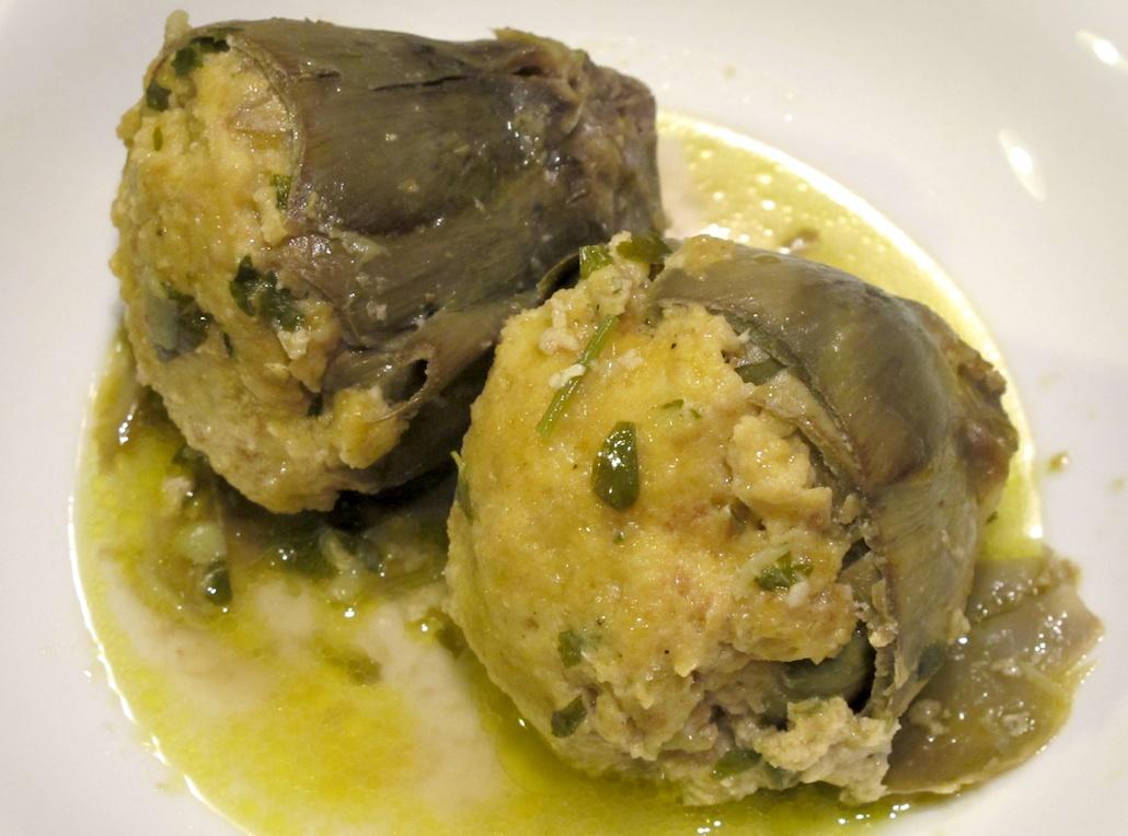 Il carciofo mazzaferrata di cupello ricetta inclusa for Carciofi ricette