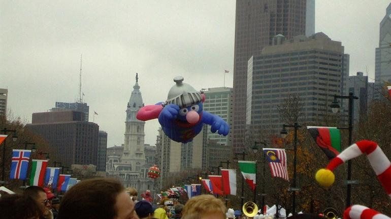 Dunkin' Donuts Thanksgiving Day Parade in Philadelphia.