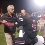 Dr. Davis at Sparkman High Football - TOC Sports Medicine