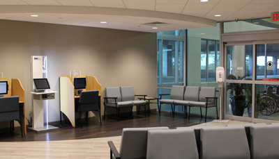 3rd Floor Check In Area | The Orthopaedic Center | Huntsville, AL