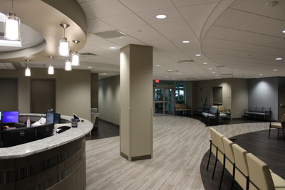 Foot & Ankle Lobby Area | The Orthopaedic Center | Huntsville, AL