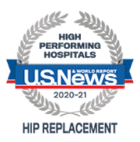 U.S. News & World Report 2020-2021 High Performing Hospitals in Hip Replacement   TOC Huntsville