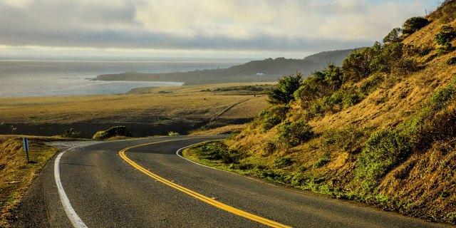 Una delle più famose strade USA: la mitica Highway 1