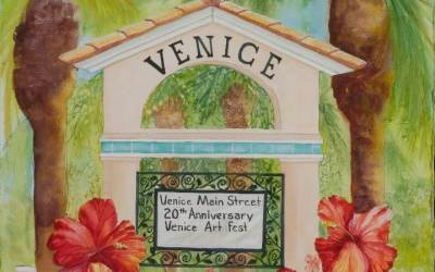 30th Annual Downtown Venice Art Festival – Official Poster Design Contest