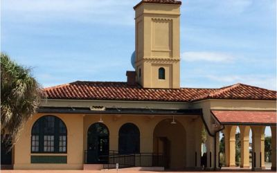The Historic Venice Train Depot:  A Legacy  by Maria Baskin