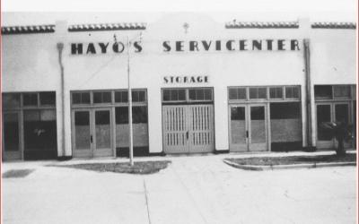 140 W. Tampa Avenue: Originally The orange Blossom Garage
