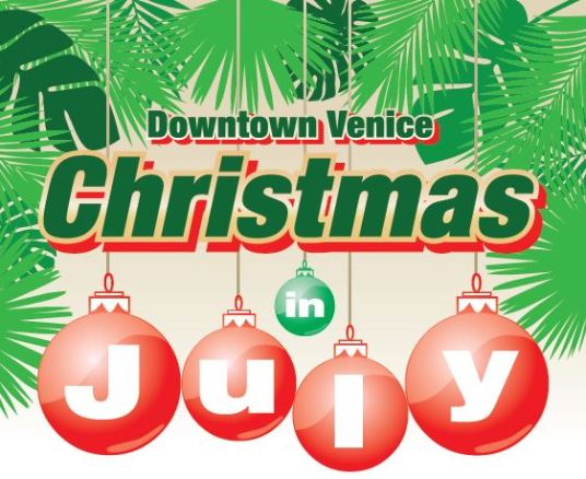 Christmas In July.Tis The Season For Christmas In July Visit Venice Fl