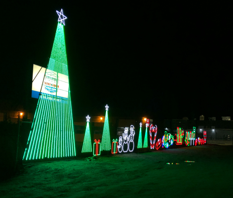 Holiday Light Displays | West Kelowna