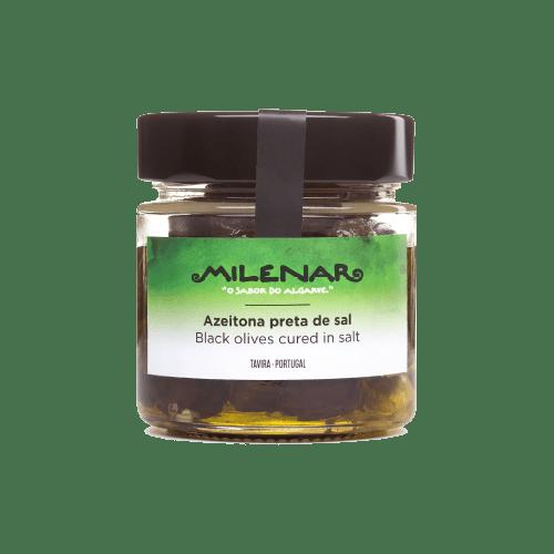 Gepekelde zwarte olijven kopen