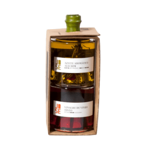 Giftpack olive oil and red wine vinegrad kopen