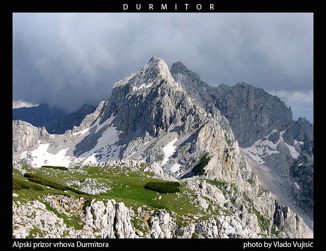 Najviši vrhovi Durmitora sa vrha Planinica