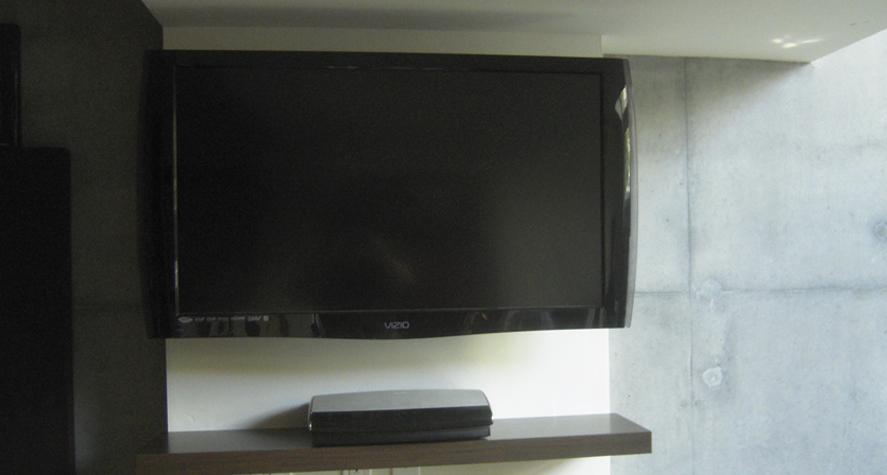 Flat Screen TV Installation Ideas Home Theater
