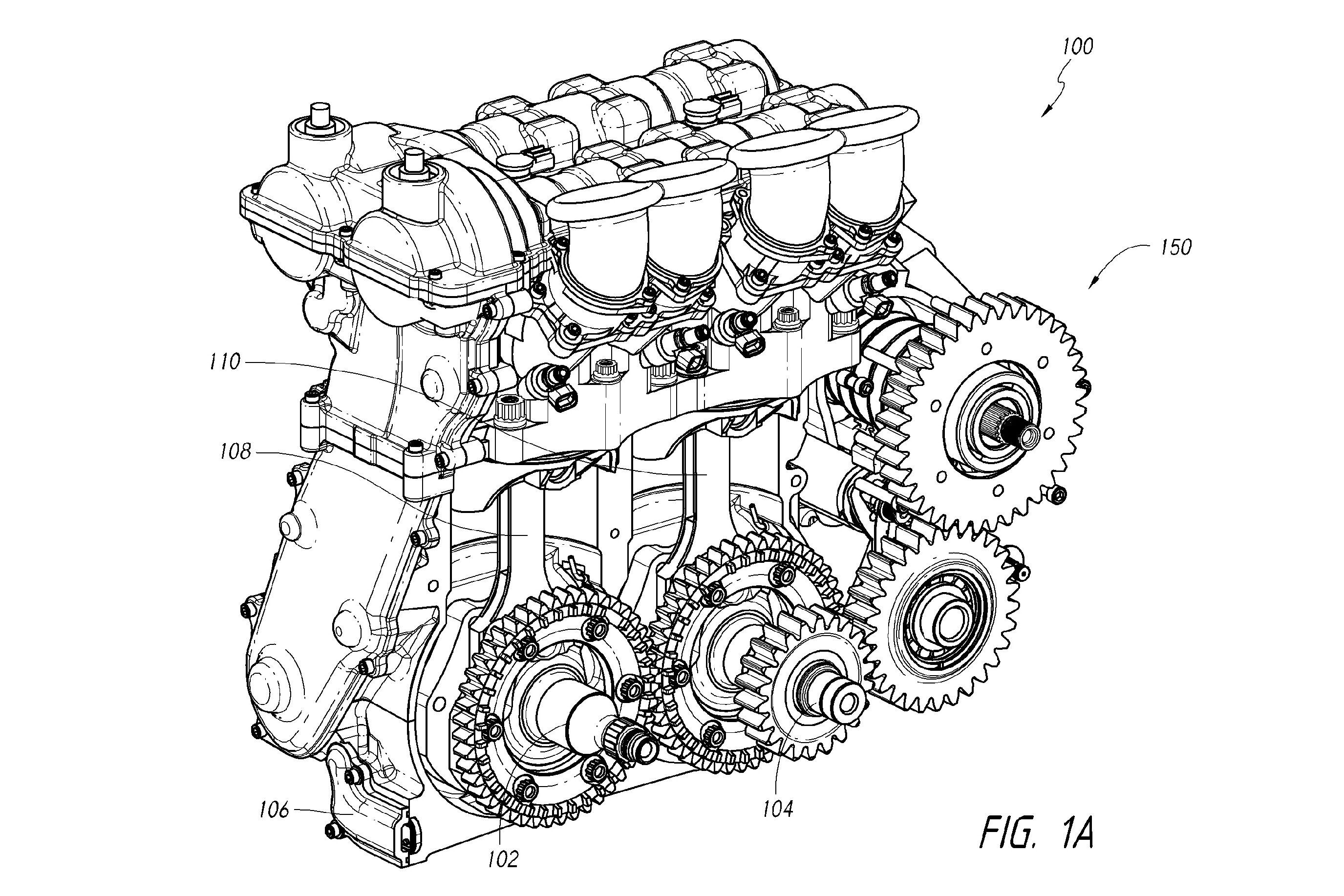 Dan Gurney Designs New Four Stroke Twin Cylinder Engine