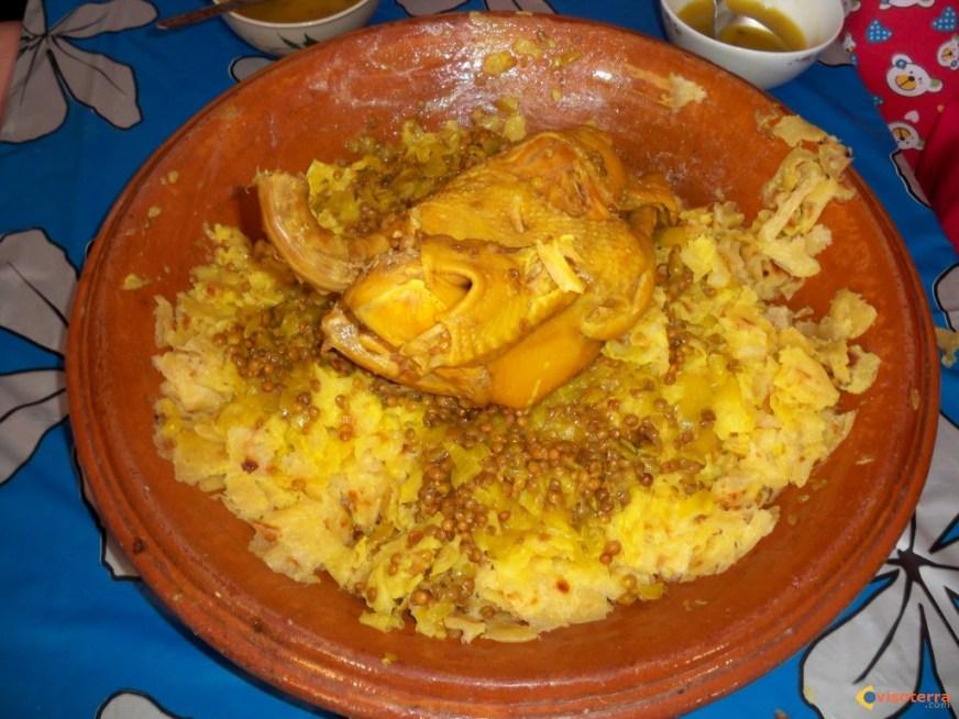 Photo : un plat de RFISSA