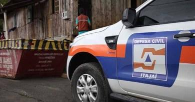 Defesa Civil de Itajaí alerta para novos temporais
