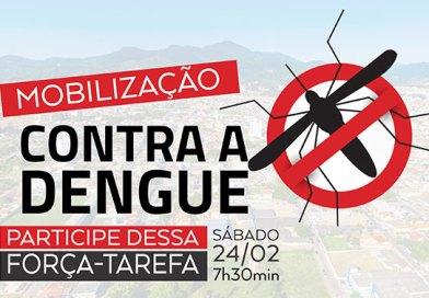Prefeitura de Camboriú realiza mutirão contra Aedes aegypti no sábado