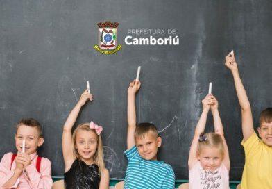 Secretaria de Educação de Camboriú chama 30 crianças para vagas em CEIs