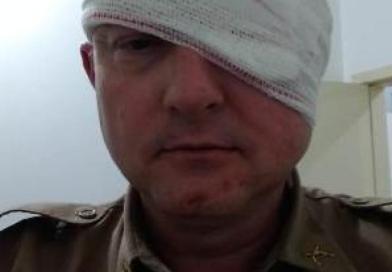 Motociclista agride policial militar durante abordagem