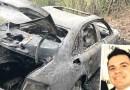 Identificado o corpo encontrado em porta malas de Audi incendiada