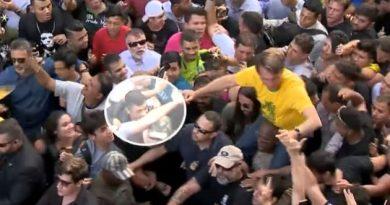 VÍDEO: Novas imagens mostram momentos antes de atentado contra Bolsonaro em MG