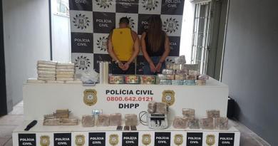 Empresário catarinense é preso com quase R$ 700 mil e 24 quilos de drogas no RS