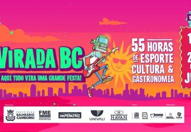 Virada BC terá shows nacionais neste fim de semana