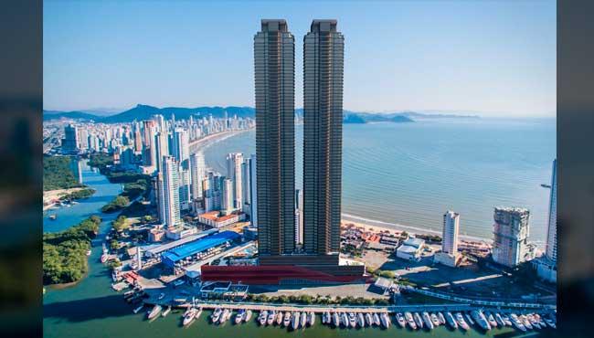 Maior edifício da América Latina tem elevador residencial mais rápido do Brasil