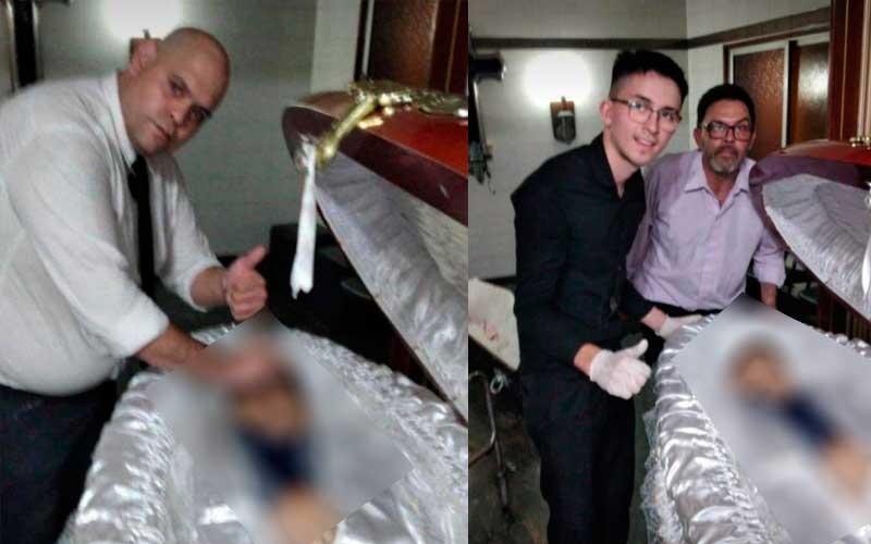 Funcionário de funerária é demitido por tirar foto com o corpo de Maradona  | Visse? | Notícias de Balneário Camboriú e Região