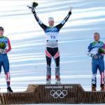 Vancouver Olympics Podium